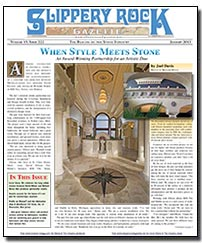 Download the January 2013 issue of Slippery Rock Gazette in PDF format