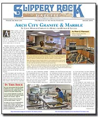Download the January 2014 issue of Slippery Rock Gazette in PDF format
