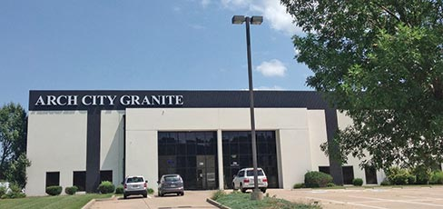 Arch City Granite & Marble's new location in O'Fallon, Missouri was created to service the fast growing area of St. Charles County.