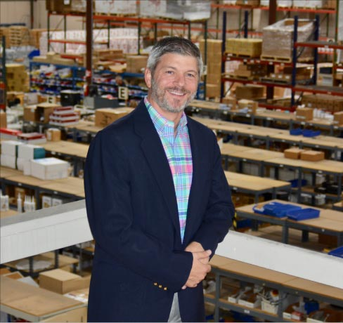 "Braxton-Bragg CEO Rick Stimac: ""Braxton-Bragg has the most efficient warehouse and shipping team in the industry."""