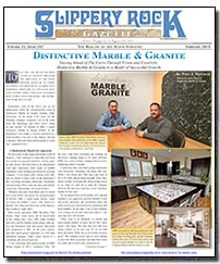Download the February 2015 issue of Slippery Rock Gazette in PDF format