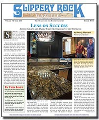 Download the March 2013 issue of Slippery Rock Gazette in PDF format