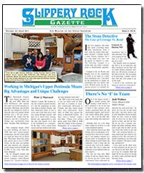 Download the March 2016 issue of Slippery Rock Gazette in PDF format