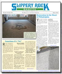 Download the March 2017 issue of Slippery Rock Gazette in PDF format
