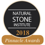 Natural Stone Institute Pinnacle Award Winner