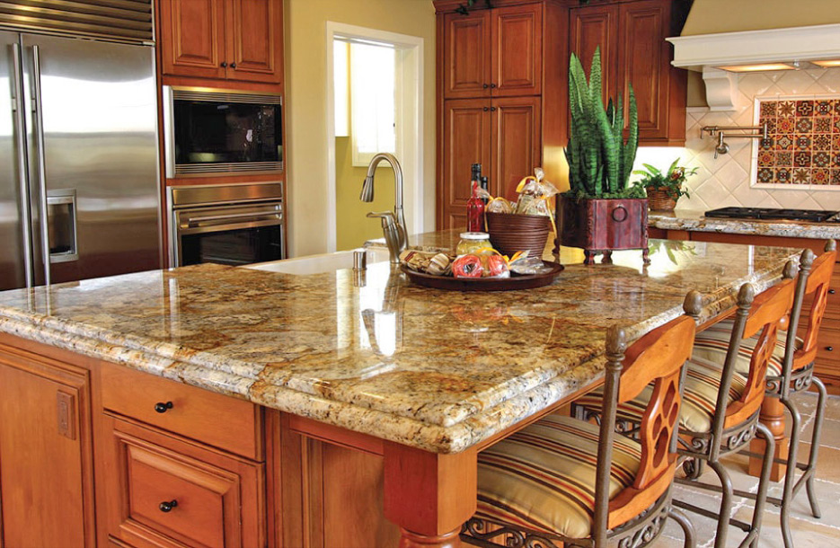 The Granite Gold Countertop Protection Plan is sold through fabricators and offers a five year coverage policy to repair accidental damage including stains, chips and etching. There is no start-up cost for fabricators to launch the Granite Gold program.