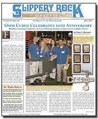 Download the April 2013 issue of Slippery Rock Gazette in PDF format