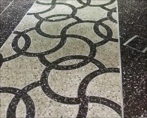 10000 Feet Of Inlaid Terrazzo The Cosmopolitan Las Vegas