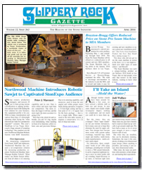 Download the April 2016 issue of Slippery Rock Gazette in PDF format