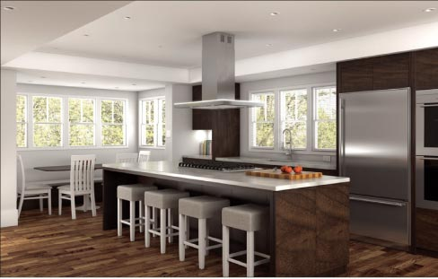 Remodeling to build spacious, open plan kitchens is a growing trend with homeowners.
