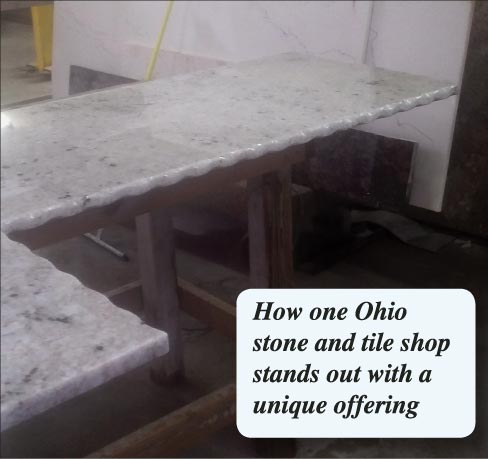 How one Ohio stone and tile shop stands out with a unique offering