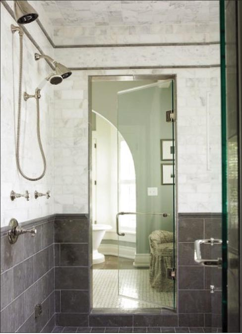 Listen up, people: Despite HGTV and Houzz, there are some limestones that are just not appropriate for wet environments like showers. Do your research.