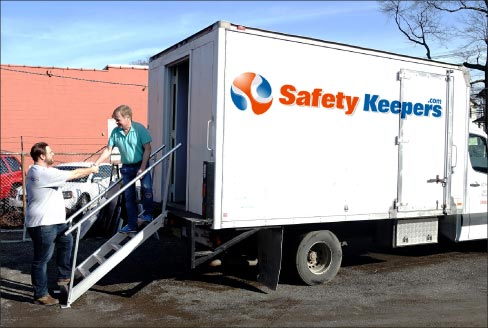 Safety Keepers has the equipment to conduct onsite pulmonary testing, respirator mask fit testing and hearing testing.