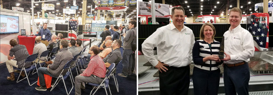 For the second year in a row, Park Industries® was named Vero Software's Global Reseller of the Year. Park experienced good attendance at the presentations held daily it its booth.