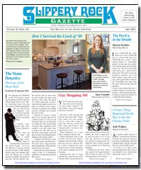 Download the May 2015 issue of Slippery Rock Gazette in PDF format