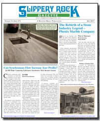 Download the May 2017 issue of Slippery Rock Gazette in PDF format