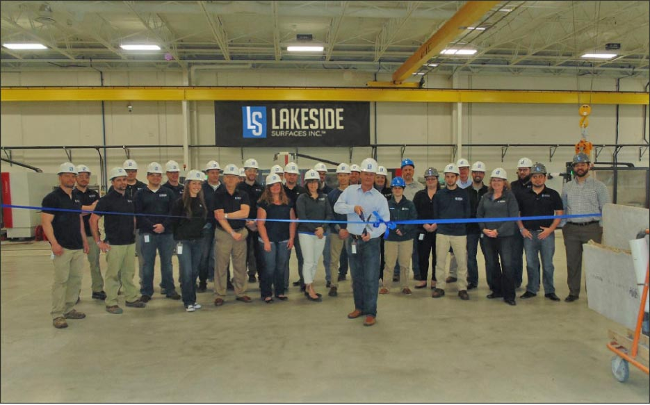 Lakeside Surfaces, Inc. has rejoined Artisan Group