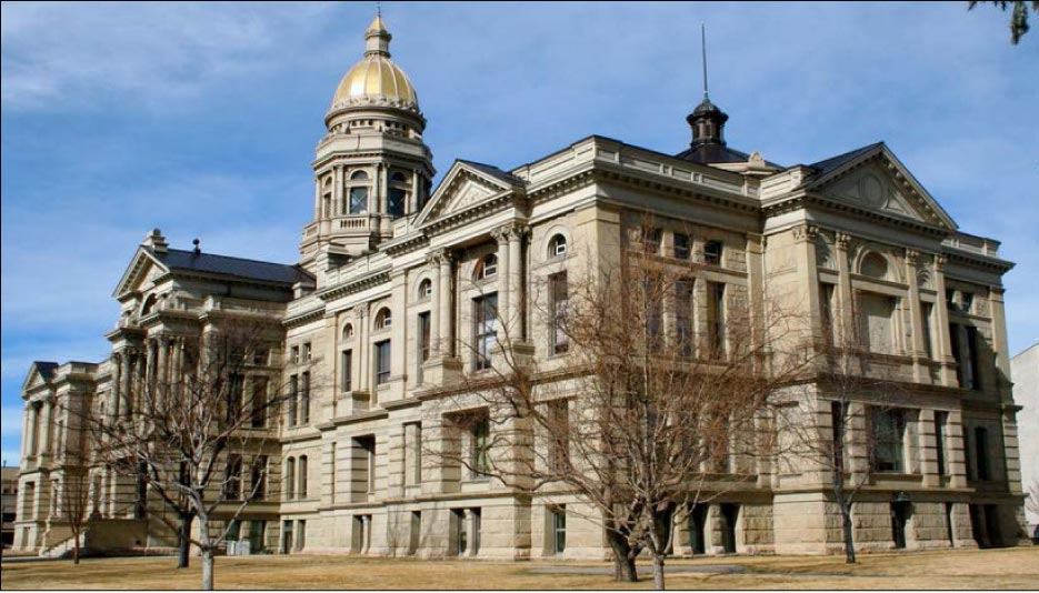 The Wyoming State Capitol Building, on the Nation Register of Historic Places, is just one of  Mark 1's current major restoration projects.