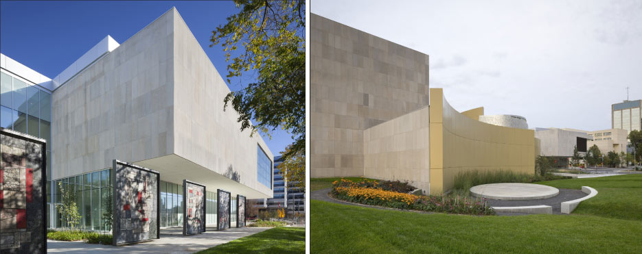 Major Expansion of Royal   Alberta Museum Features Indiana Limestone