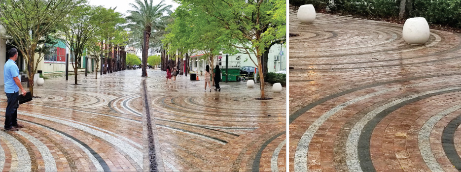 Public Landscapes/Parks/Memorials Miracle Mile and Giralda Avenue Streetscape  Coral Gables, Florida