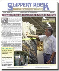 Download the June 2012 issue of SlipperyRock Gazette in PDF format