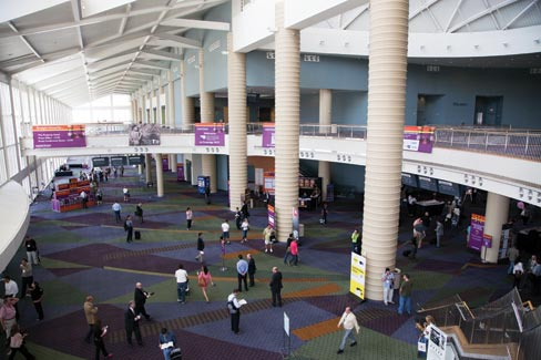 Coverings 2012 entrance hall