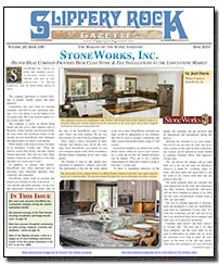 Download the June 2014 issue of Slippery Rock Gazette in PDF format