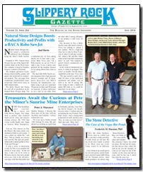 Download the June 2016 issue of Slippery Rock Gazette in PDF format