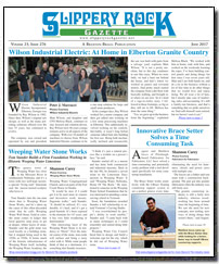 Download the June 2017 issue of Slippery Rock Gazette in PDF format