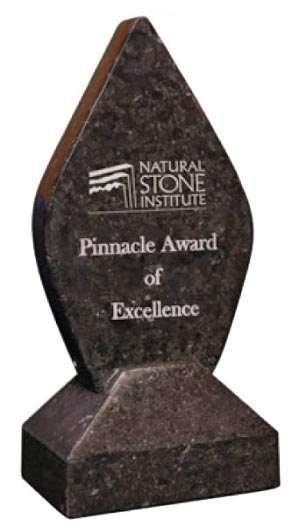 Natural Stone Institute Announces 2018 Pinnacle Awards Call for Entries