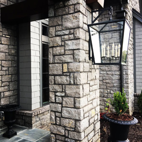 Tennessee Stone's Grey Limestone. An excellent building stone for structural construction and facades, this sophisticated color is rising in popularity for high-end construction projects. Dimensionally stable and beautiful.