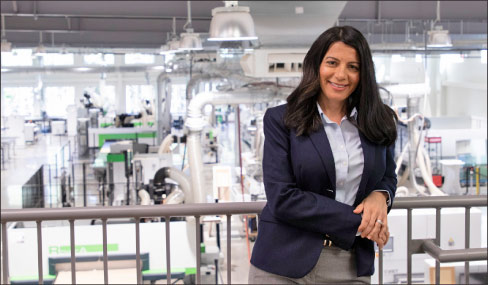 Niki Kaltsounis-Kampiziones is named Chief Operating Officer for Biesse and Intermac in North America.