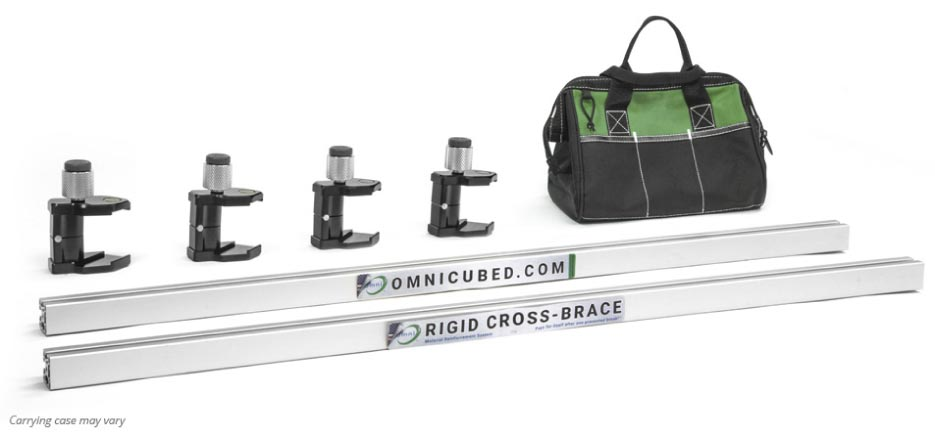 Rigid Cross-Brace Kit (carrying case may vary)