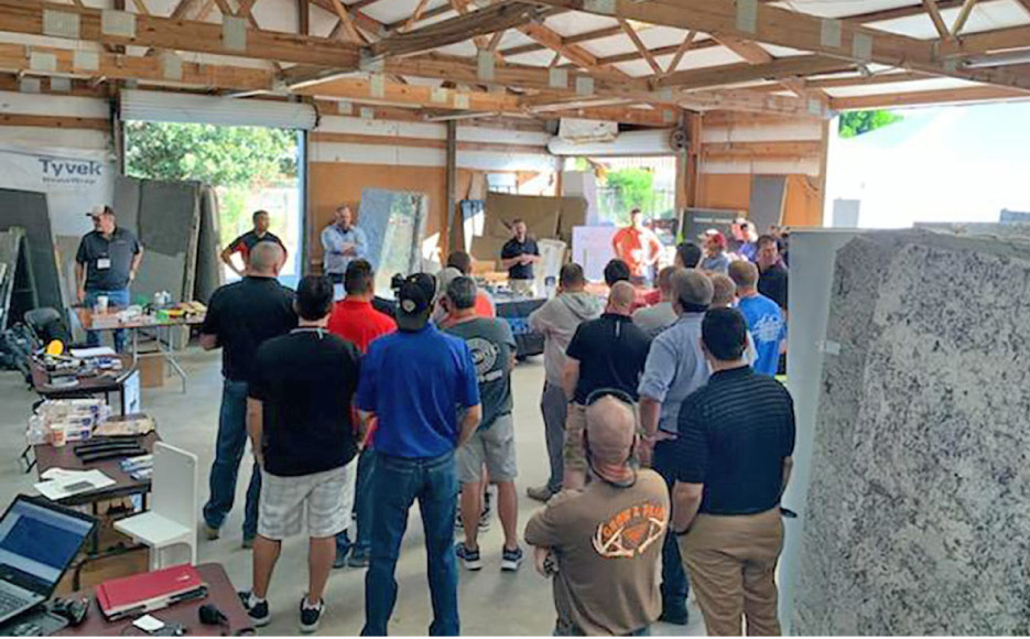 All Slab Fabbers held their first workshop in 2019. The inaugural event was attended by about 150 fabricators, and several stone industry vendors.