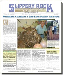 Download the July 2012 issue of SlipperyRock Gazette in PDF format