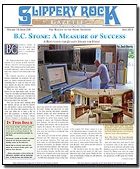 Download the July 2013 issue of Slippery Rock Gazette in PDF format