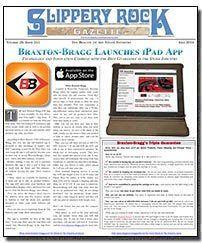 Download the July 2014 issue of Slippery Rock Gazette in PDF format