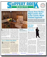 Download the June 2015 issue of Slippery Rock Gazette in PDF format