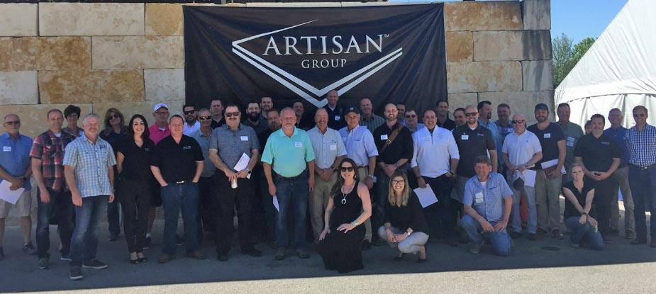 Thirty Artisan Group member companies and 21 industry vendors turned out for the 7th Annual Industry Showcase.