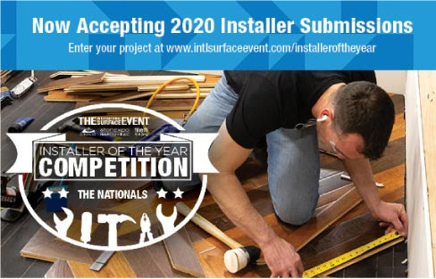Installer of the Year Competition at TISE 2020 – Call for Entries