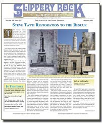 Download the August 2012 issue of SlipperyRock Gazette in PDF format