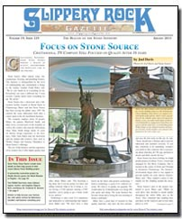 Download the August 2013 issue of Slippery Rock Gazette in PDF format