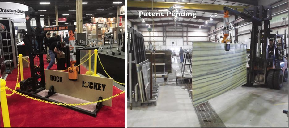 Braxton-Bragg has a successful history of helping inventors bring new tools, concepts and innovations to market, like the patent pending Stone Pro Rock Jockey debuted at TISE 2017.