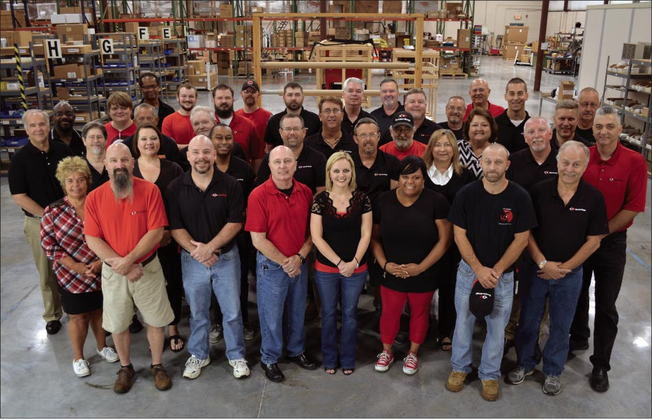 "Braxton-Bragg offers an industry-unique 30-day money-back guarantee. For over three decades, they have promised stone industry customers that they ""have a friend in Tennessee."""