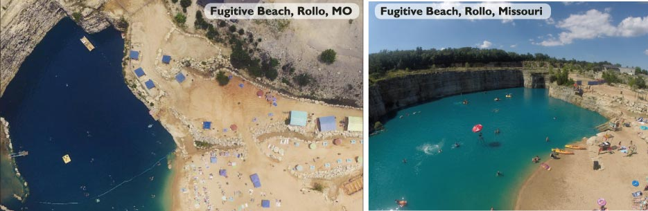 Fugitive Beach, Rollo, MO