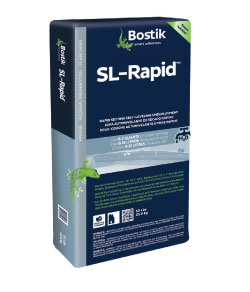 Bostik's new rapid- setting, self-leveling cement compound gets to the bottom of flooring installs.