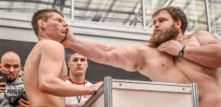 Male Slapping Championships, part of the Siberian Power Show