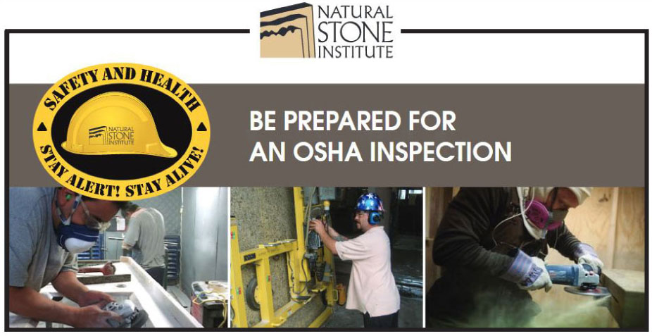 Natural Stone Institute Introduces New OSHA Checklist
