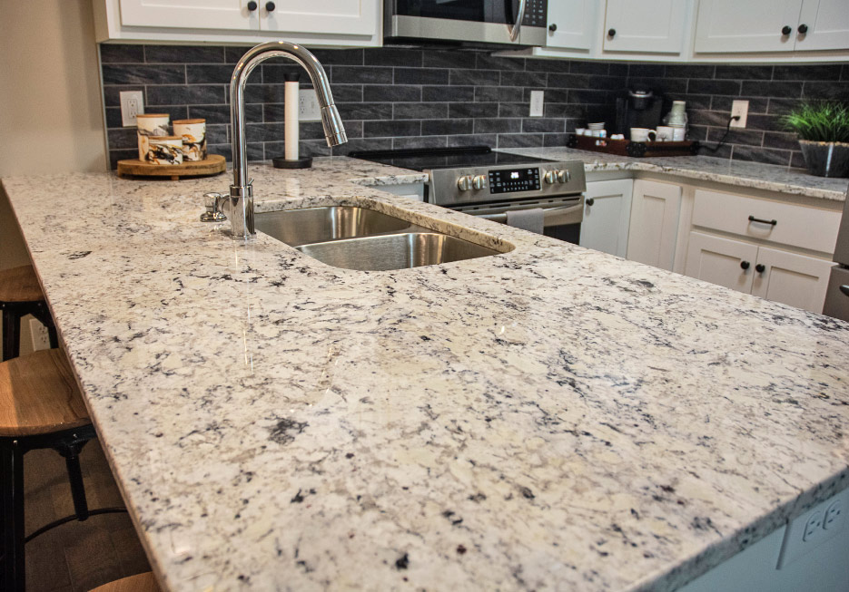 Galileo Ornamental granite kitchen