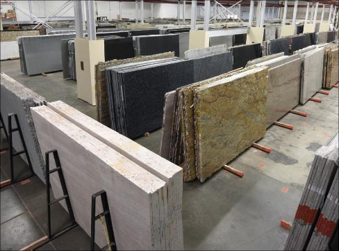 A member of the MIA, Stone Mart sources most of its natural stone from India, Italy, and Brazil. It also offers Santamargherita Quartz, manufactured in Italy.